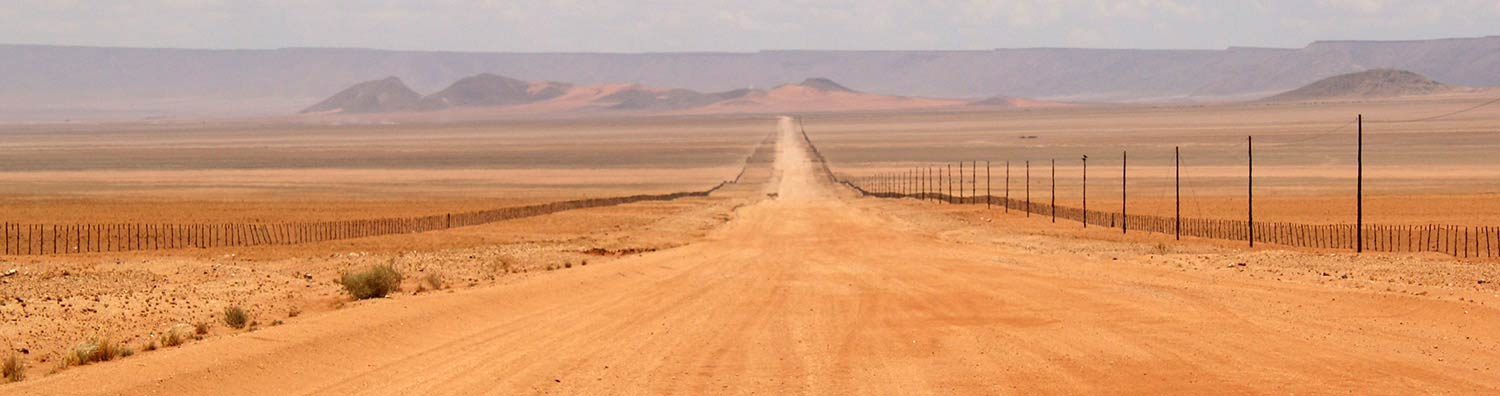 Namibian road - Best time to visit Namibia - Namibia weather - Vreugde Guest Farm