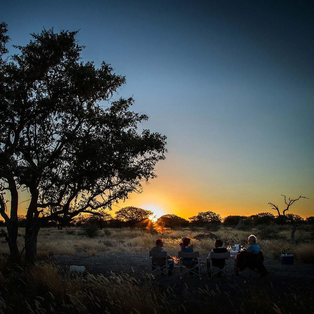 Sundowner at Vreugde Guest Farm - Namibia Africa - near Anderson Gate Etosha